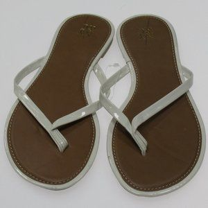NY & Co White Sandals New, size 6